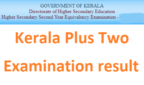 Kerala Plus One +2 Revaluation Result