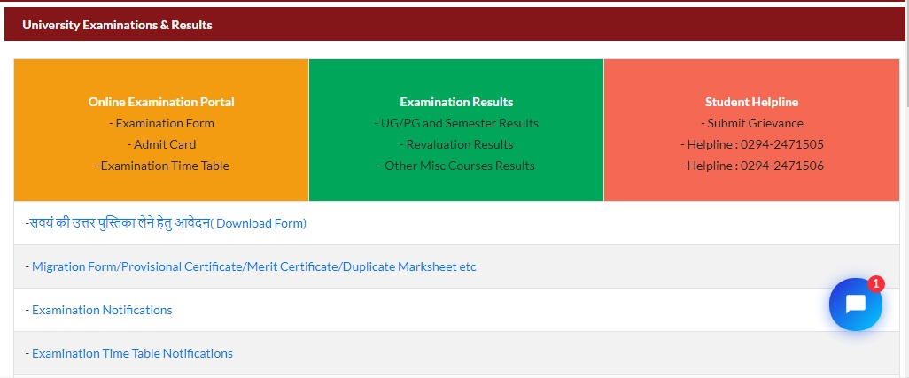 MLSU Revaluation Result 2021