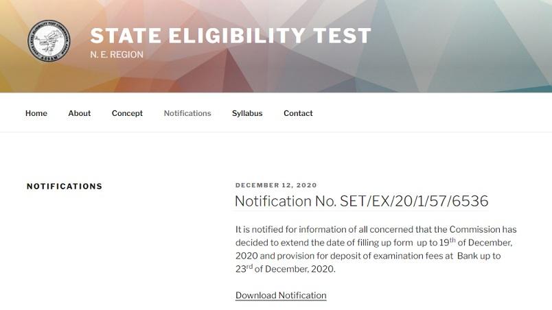 Assam SLET Answer Key 2021