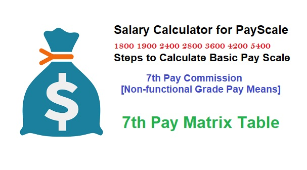 Salary Calculator for PayScale