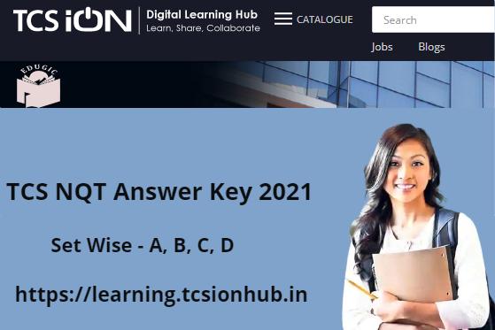 TCS NQT Answer Key 2021