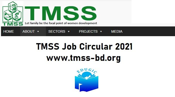 TMSS Job Circular 2021 @www.tmss-bd.org