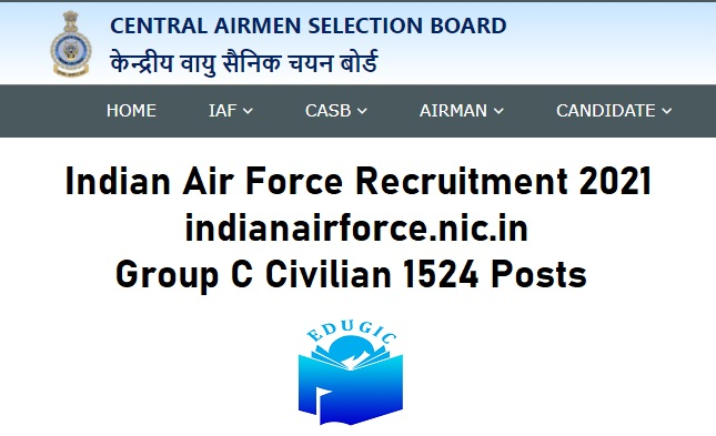 Indian Air Force Recruitment 202