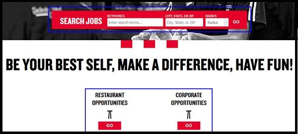 KFC Job Application Form 2021