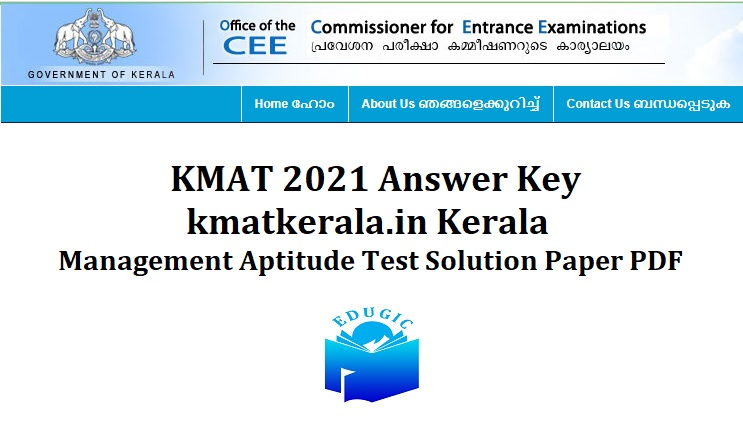 KMAT Answer Key