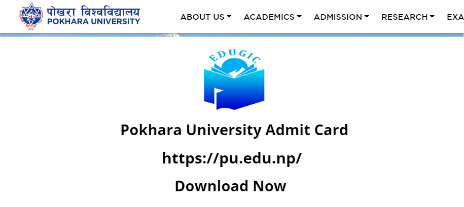 Pokhara University Admit Card 2021