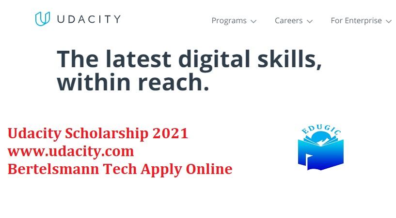 Udacity Scholarship 2021