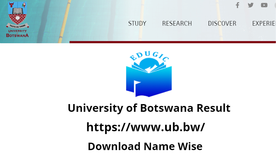 University of Botswana Result 2021
