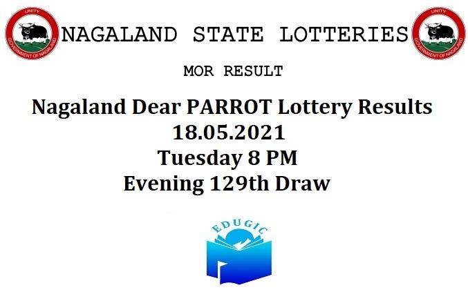 Nagaland Dear PARROT Lottery Results