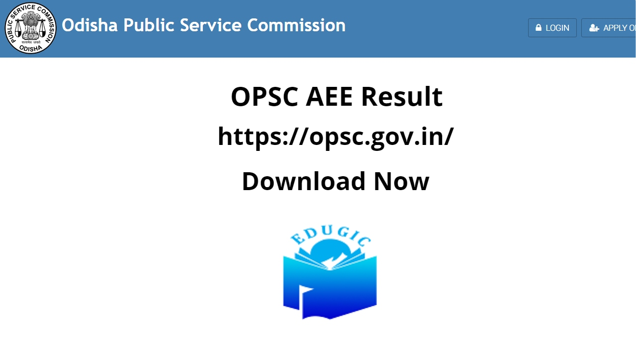 OPSC AEE Result 2021